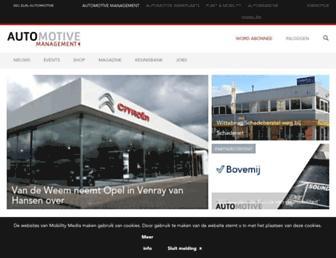 automotive-online.nl screenshot