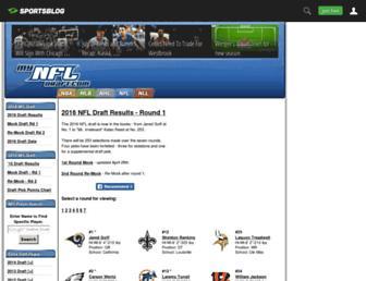 mynfldraft.com screenshot