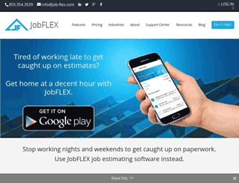 job-flex.com screenshot