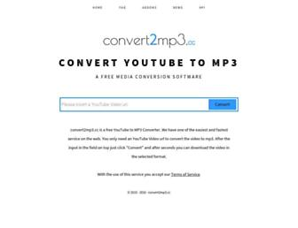 convert2mp3.cc screenshot