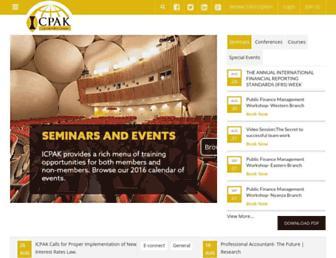 icpak.com screenshot