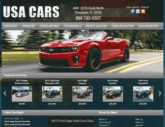 usacarsfl.com screenshot
