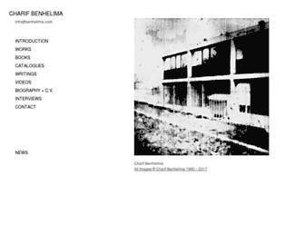 benhelima.com screenshot