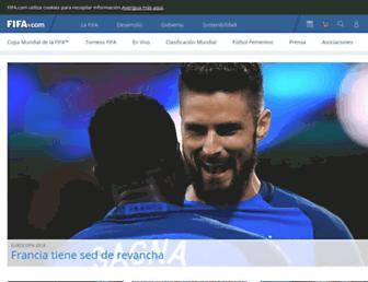 es.fifa.com screenshot