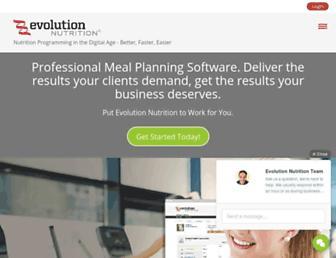 evolutionnutrition.com screenshot