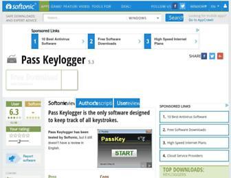pass-keylogger.en.softonic.com screenshot