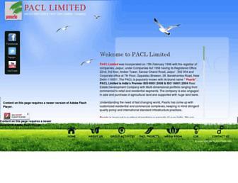 paclltd.com screenshot