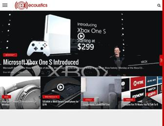 ecoustics.com screenshot