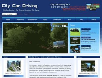 citycardriving.com screenshot