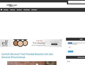 luthfan.com screenshot
