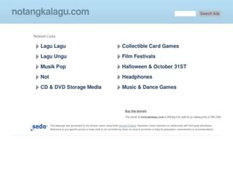 notangkalagu.com screenshot