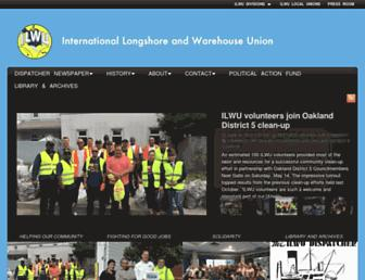 ilwu.org screenshot