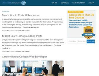 blog.learntoprogram.tv screenshot