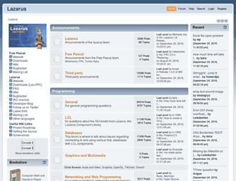 forum.lazarus-ide.org screenshot