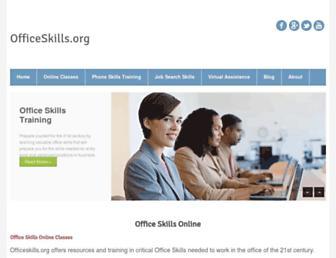 officeskills.org screenshot