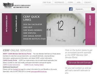mocerf.org screenshot