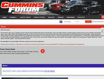 Thumbshot of Cumminsforum.com