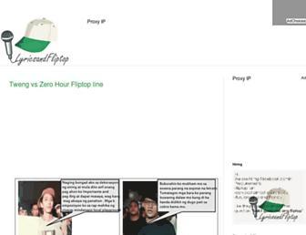lyrics-ko.blogspot.com screenshot