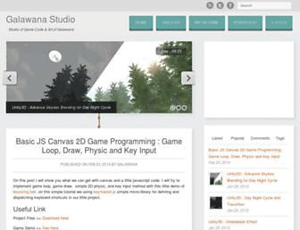 galawana.com screenshot