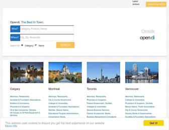 opendi.ca screenshot