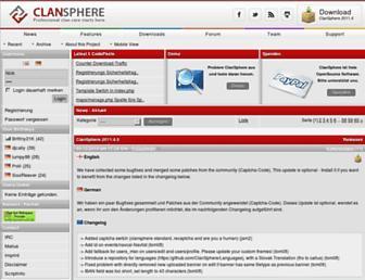 csphere.eu screenshot
