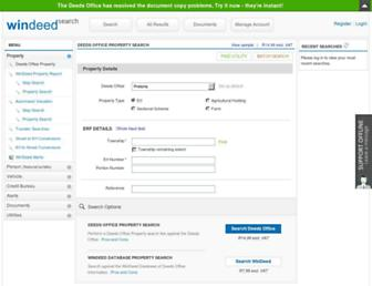 Thumbshot of Windeedsearch.co.za