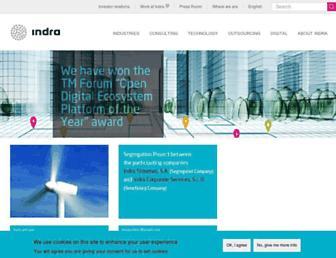 indracompany.com screenshot