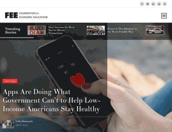 Thumbshot of Fee.org
