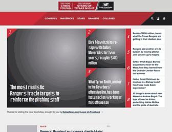 sportsday.dallasnews.com screenshot