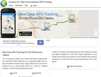 locationof.com screenshot