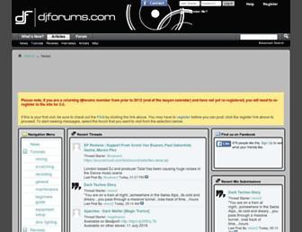 djforums.com screenshot