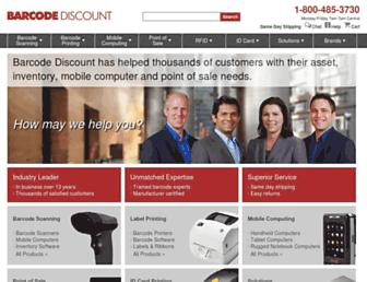 barcodediscount.com screenshot