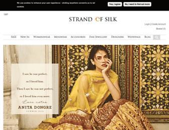strandofsilk.com screenshot