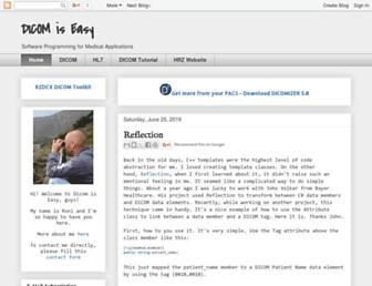 dicomiseasy.blogspot.com screenshot