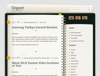 unport.com screenshot