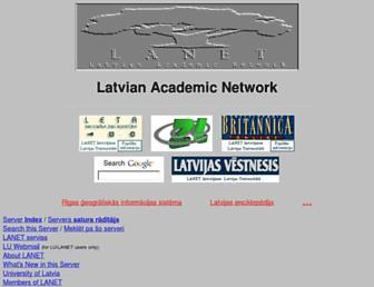 lanet.lv screenshot