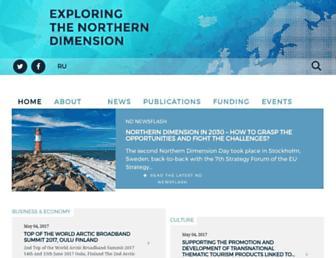 northerndimension.info screenshot