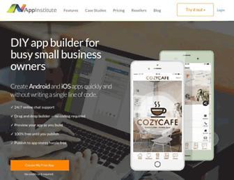 appinstitute.com screenshot