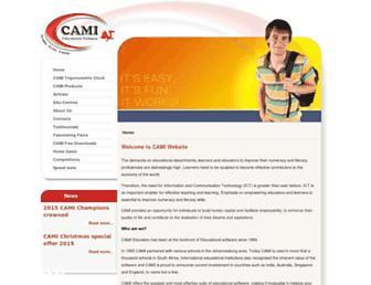 camiweb.com screenshot