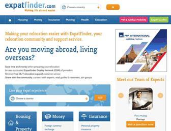 Thumbshot of Expatfinder.com