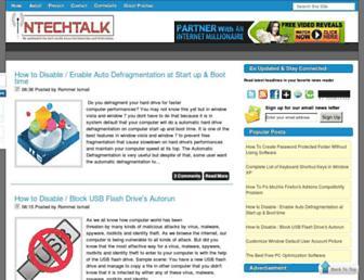 intechtalk.blogspot.com screenshot