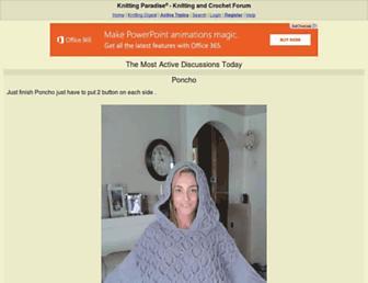 Thumbshot of Knittingparadise.com