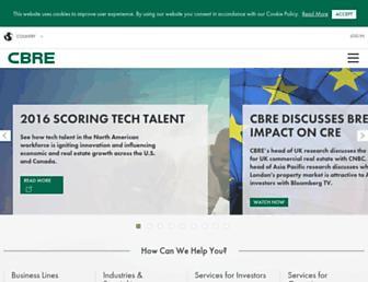 Thumbshot of Cbre.com