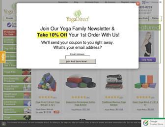 Thumbshot of Yogadirect.com