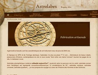 astrolabes.fr screenshot