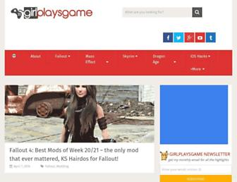 girlplaysgame.com screenshot