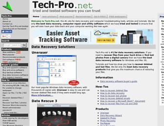 tech-pro.net screenshot