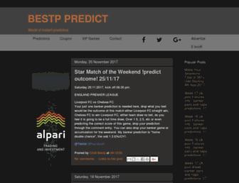 bestppredict.com screenshot