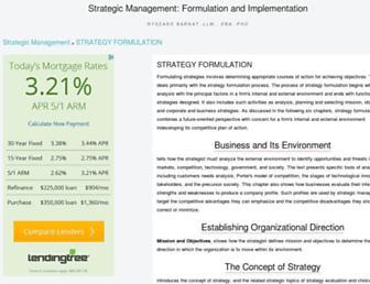 strategy-formulation.24xls.com screenshot