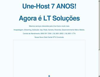 Thumbshot of Unehost.com.br